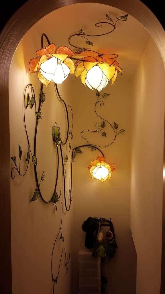 lampadari muro stile liberty