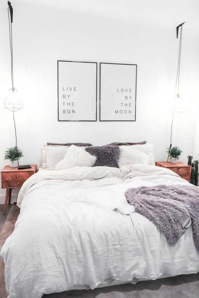 lampadario camera da letto fillyourhomewithlove