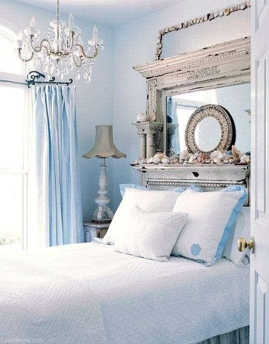 lampadario camera da letto shabby chic