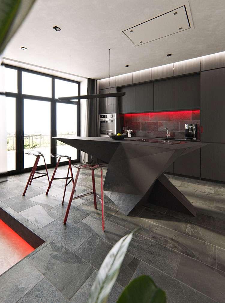 cucine con isola di design