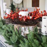 Decori natalizi stile shabby: idee eleganti