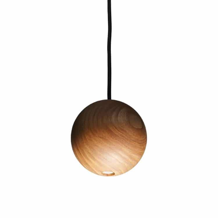 lampadari di design in legno