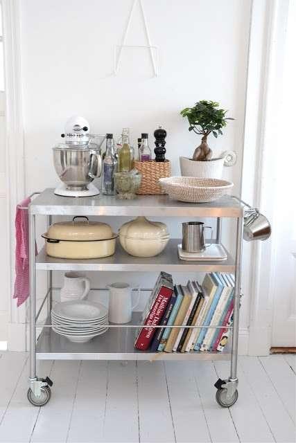 Carrelli cucina: ordine con stile | Fillyourhomewithlove