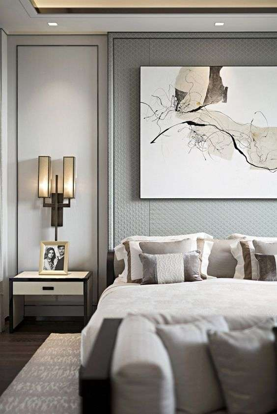 come illuminare la camera da letto con lampade di design