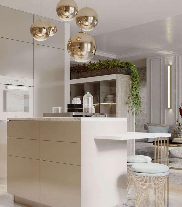 lampadari cucina moderna
