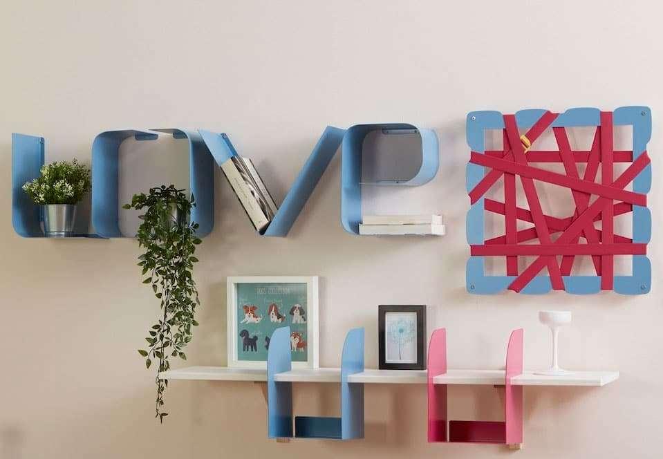 decorazioni pareti firmate Mipiacemolto