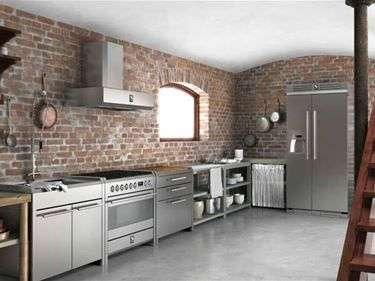 cucina in stile industriale