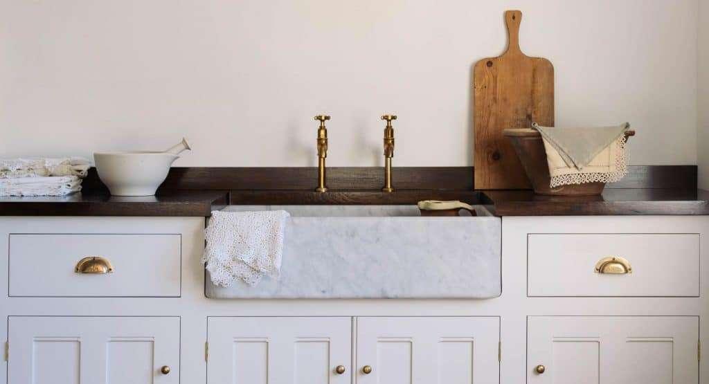 cucine ad angolo con lavabo grande