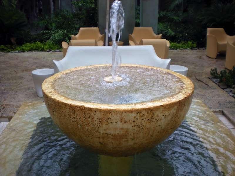 fontana decorativa giardino in pietra