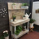 Mobiletti giardino: organizzazione e stile
