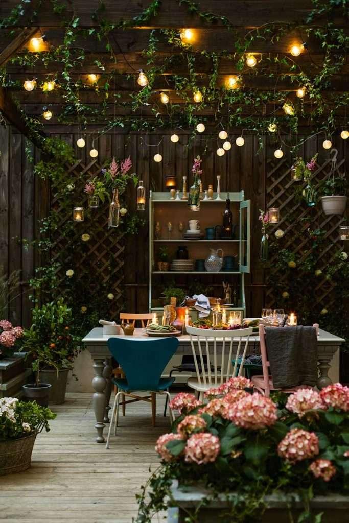 mobili da giardino shabby chic