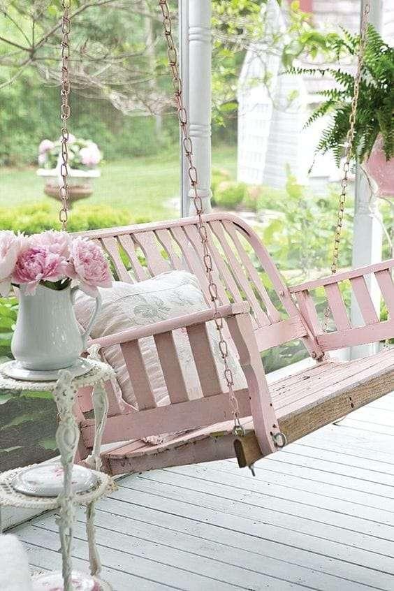 mobili per giardino shabby chic